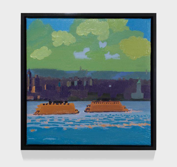 Translating Sight into Paint Artes & contextos Daniel Heidkamp crossing