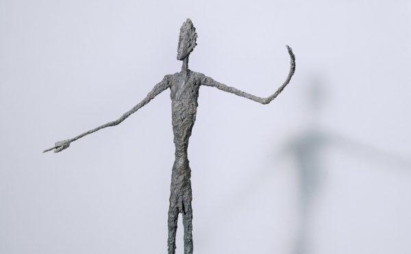 "Alberto Giacometti, ""Man Pointing"" (1947), bronze, 178 x 95 x 52 cm, Tate (© Alberto Giacometti Estate, ACS/DACS, 2017)"