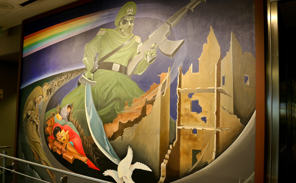 At The Denver Airport Art Fuels Conspiracy Theorists