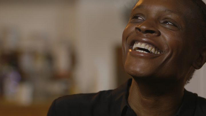 Okwui Okpokwasili in Andrew Rossi's documentary <em>Bronx Gothic</em>, based on Okpokwasili's performance of the same name (courtesy of Grasshopper Film)