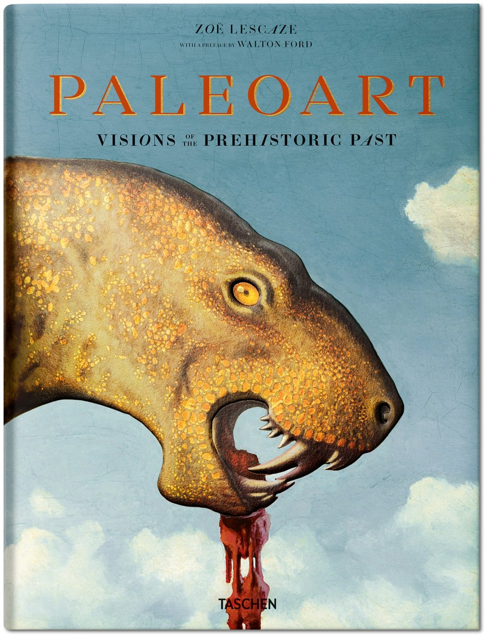 Cover of Paleoart: Visions of the Prehistoric Past (courtesy Taschen)