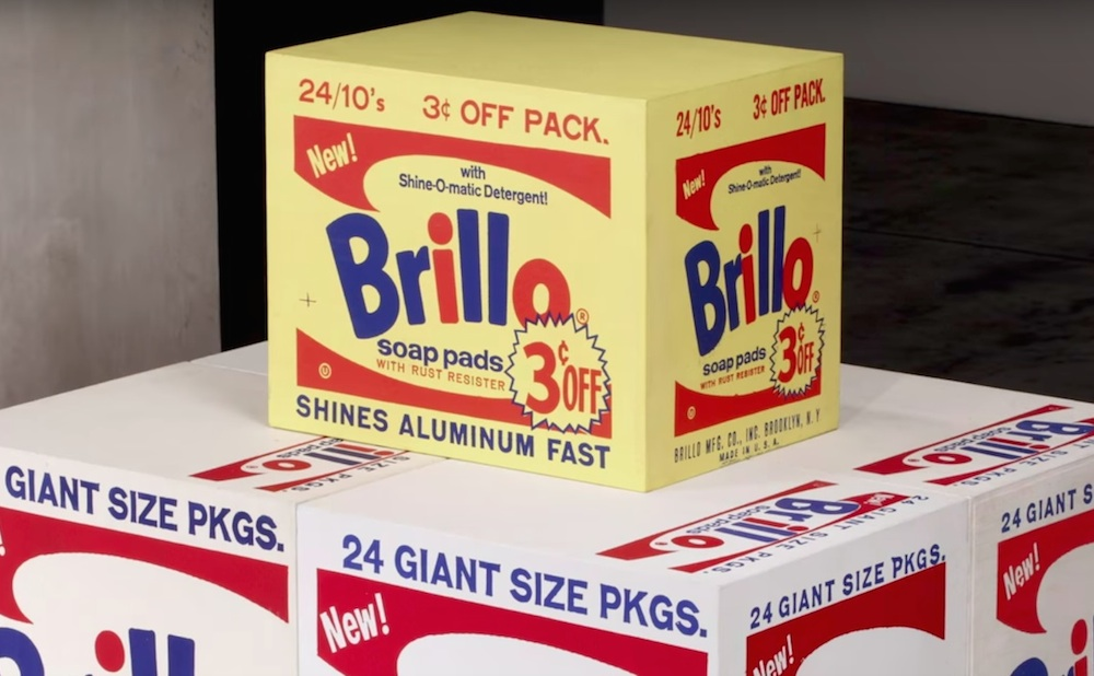 Still from Brillo Box (3ç off) (Brillo trademark used with permission of Armaly Brands, Inc. / screenshot by the author via YouTube)