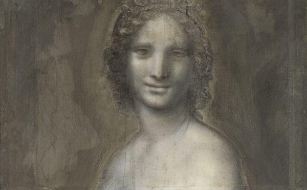 "School of Leonardo da Vinci, ""La Joconde nue"" (ca 1514–16), 28.5 x 21 in (© RMN-Grand Palais, domaine de Chantilly; photo by Gérard Blot)"