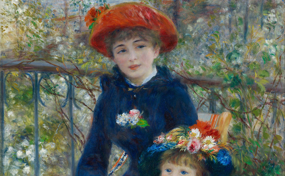 trump continues to lie about his fake renoir