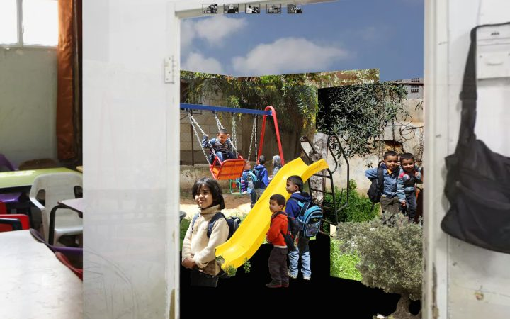 Scene from <em>The Invisible Walls of the Occupation</em> (courtesy B'Tselem and Folklore)