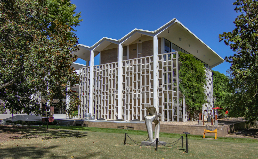 The main building of the Memphis College of Art (all photos courtesy Memphis College of Art)