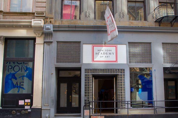 The New York Academy of Art at 111 Franklin Street (photo via Facebook)