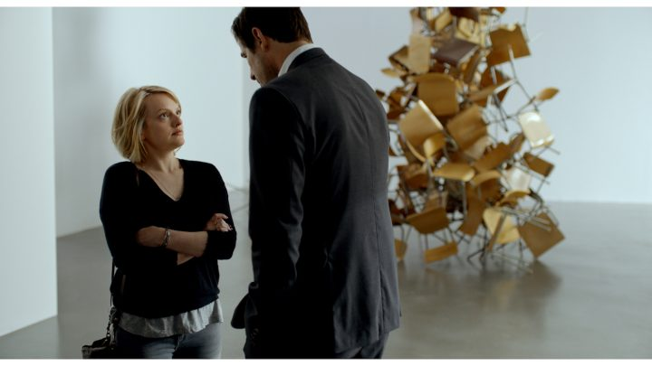 Elisabeth Moss and Claes Bang in The Square, a Magnolia Pictures release