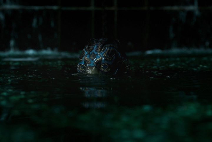 A scene from The Shape of Water, featuring Doug Jones