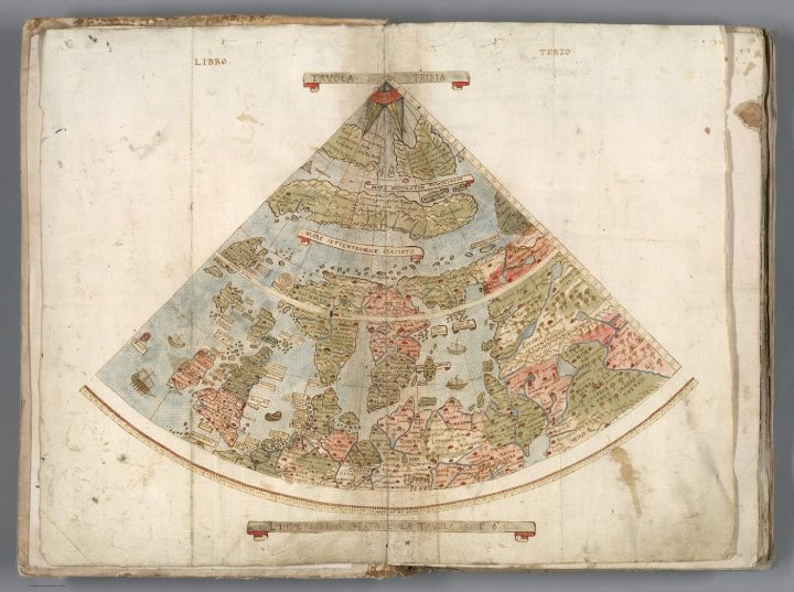 1587 World Map.Explore The Largest Known Early Map Of The World Assembled For The