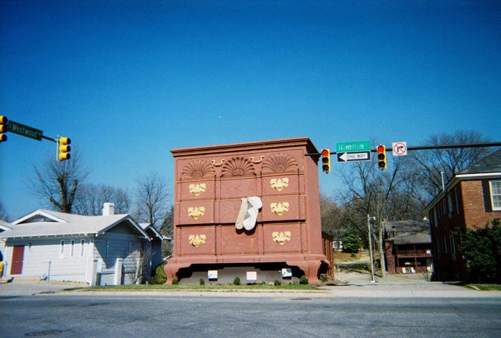 Worlds Largest Chest Of Drawers Building on north carolina furniture makers