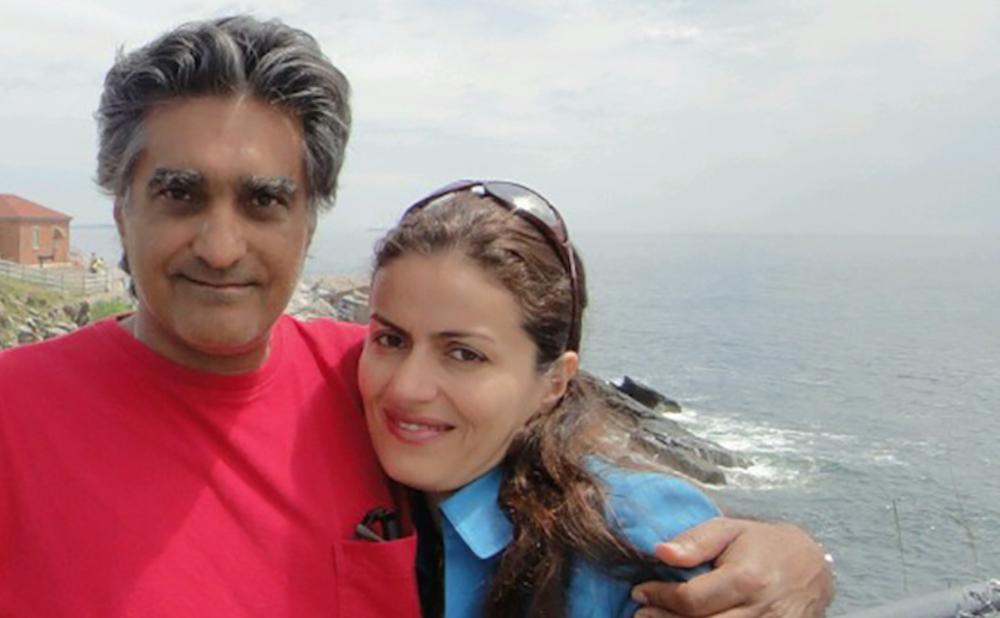 Karan Vafadari and Afarin Nayssari