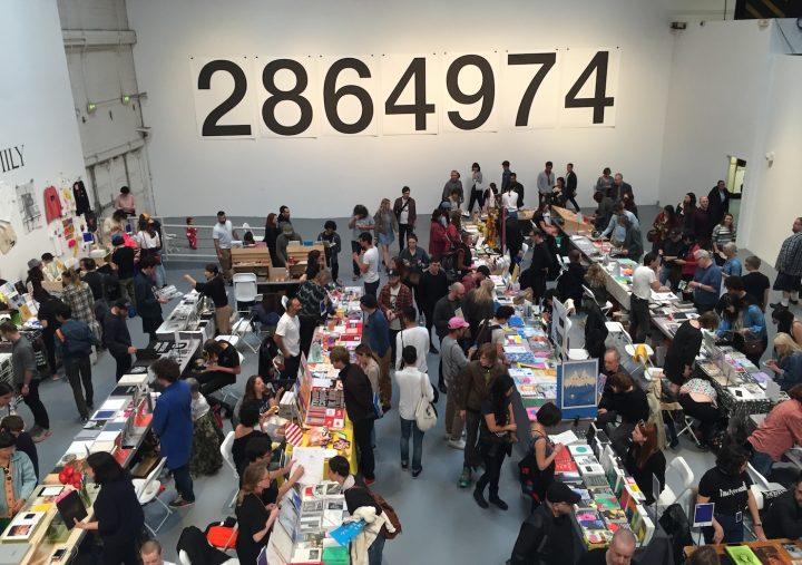 The 2017 Los Angeles Art Book Fair (photo by Matt Stromberg/Hyperallergic)