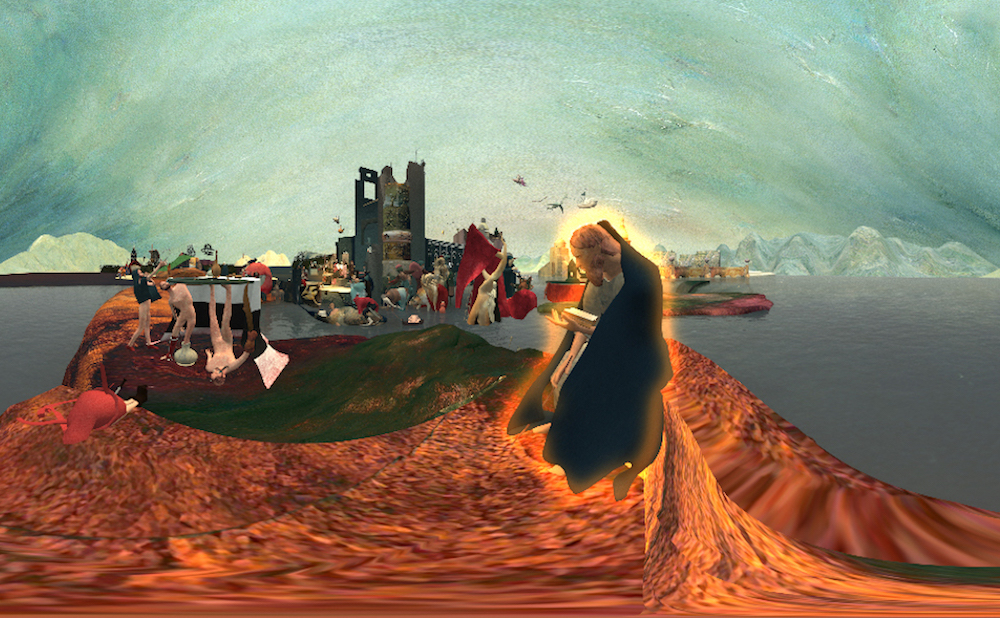 Float Past Flying Fishes and Burning Churches in a VR Bosch Painting