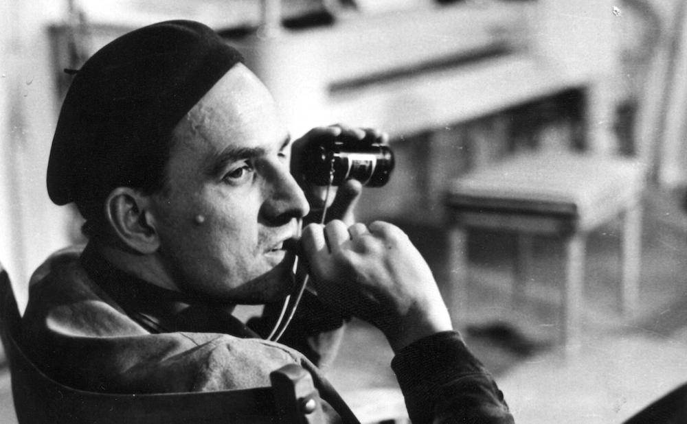 Ingmar Bergman (courtesy Film Forum)