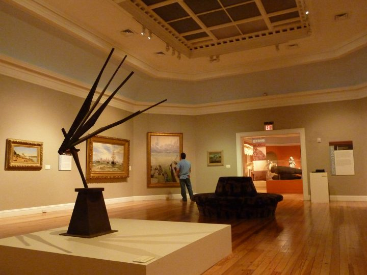 The interior of the Berkshire Museum (photo by Tim Grafft for the Massachusetts Office of Travel and Tourism)