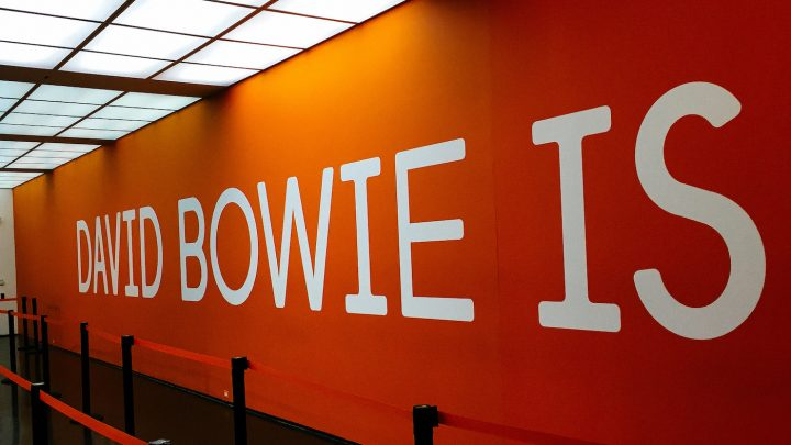 The entrance to <em>David Bowie is</em> at the MCA Chicago (photo by Sean Benham/Flickr)