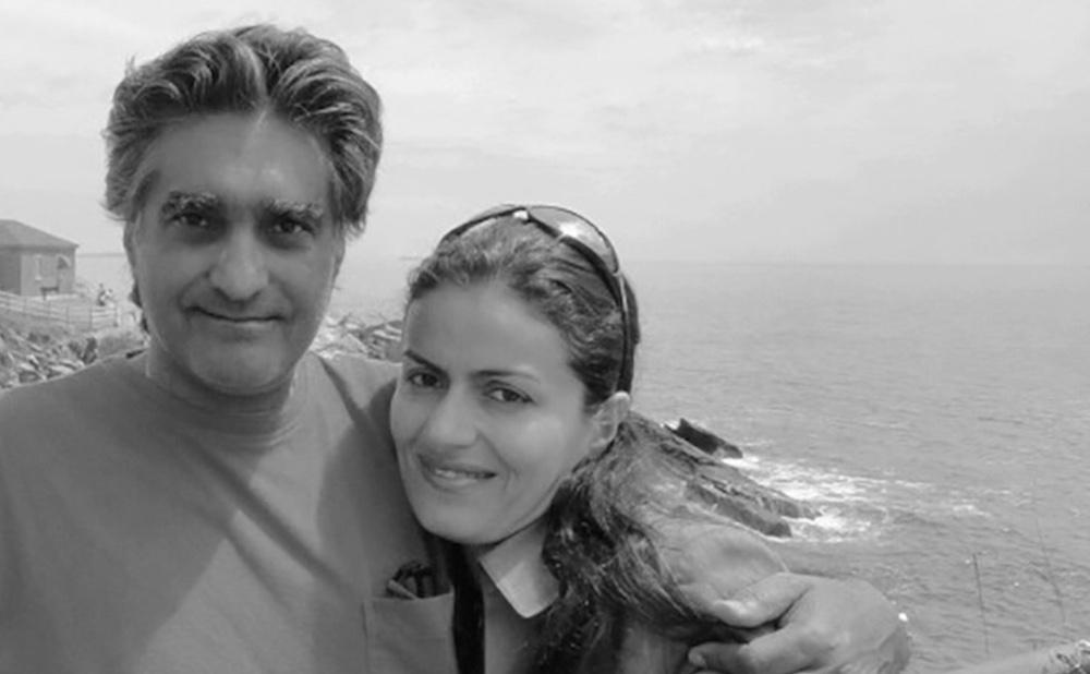 Karan Vafadari and Afarin Nayssari (image via Center for Human Rights in Iran)