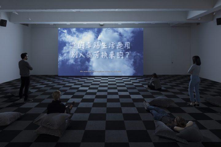 Liu Shiyuan, installation view of <em srcset=