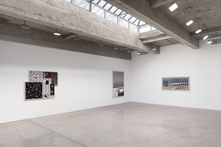 Liu Shiyuan, installation view of Isolated Above, Connected Down at Tanya Bonakdar Gallery, New York, February 22–April 7, 2018 (photo by Pierre Le Hors, courtesy of the artist and Tanya Bonakdar Gallery, New York)