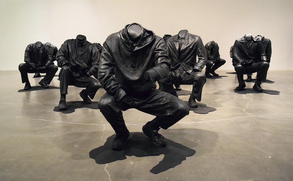 """Haroon Gunn-Salie, """"Senzenina"""" (2018), mixed media installation"""