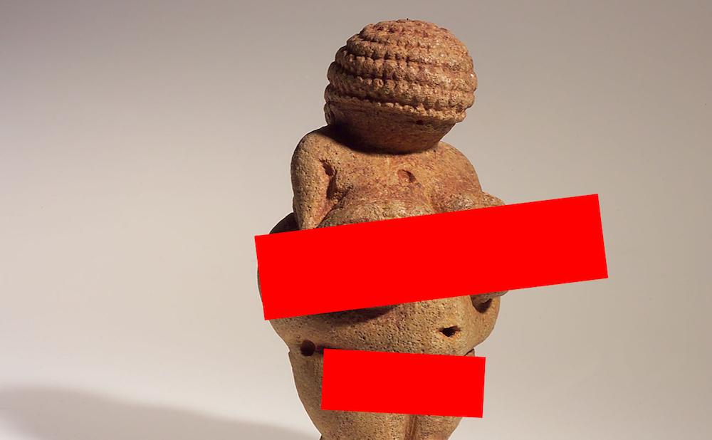Facebook Censored A Stone Age Nude Sculpture Venus Of