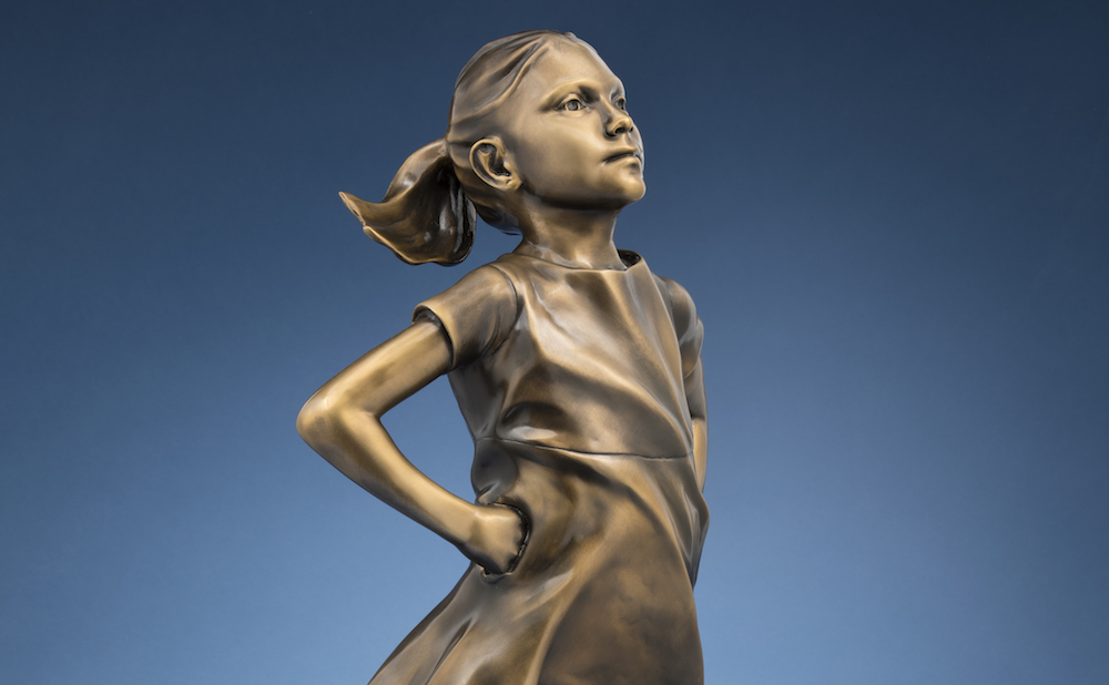 Quot Fearless Girl Quot Sculptor Is Selling 6 500 Reproductions