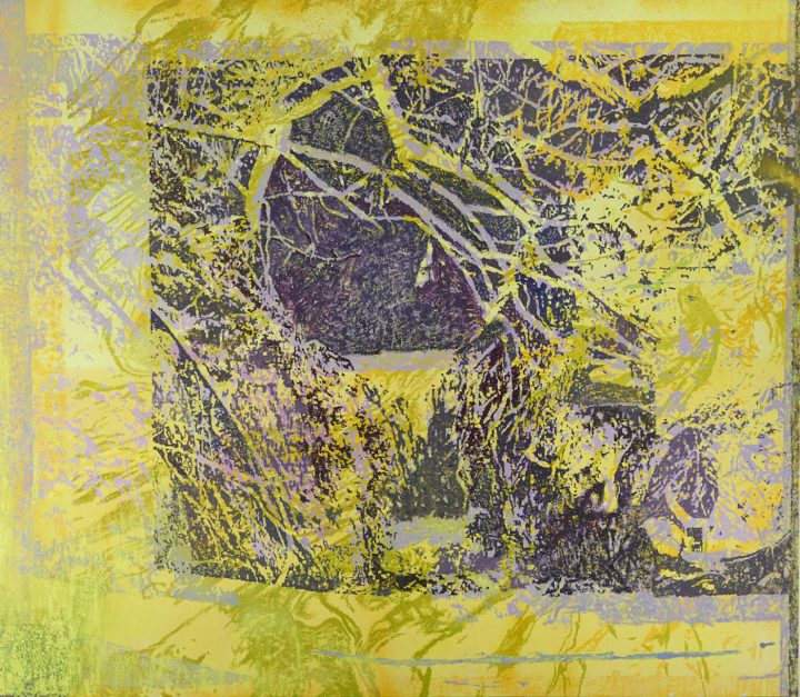 "Greg Lindquist, ""Duke Energy's Dan River VI"" (2014), oil on canvas, 68 x 78 in"