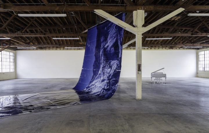 Lutz Bacher, Magic Mountain installation view at 356 Mission, Los Angeles, 2016 (photo by Brica Wilcox, courtesy the artist and 356 Mission)