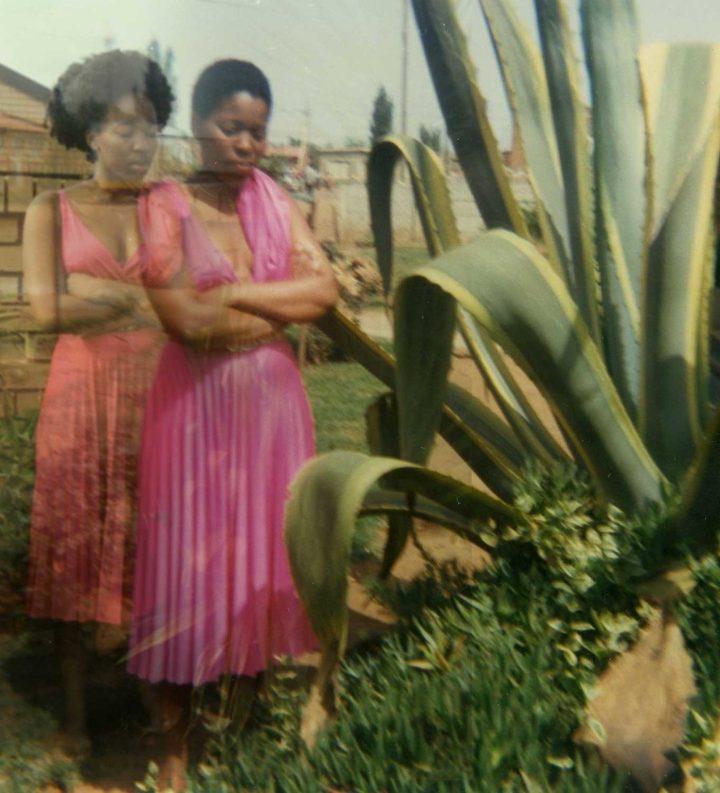 "Lebohang Kganye, ""Ka phisi yaka e pinky II"" (2013), inkjet print on cotton rag paper, 42 x 42 cm (© Lebohang Kganye, courtesy Afronova Gallery)"