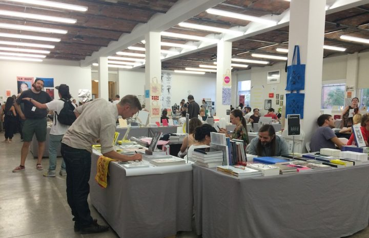 The 2015 edition of the NY Art Book Fair (photo by Claire Voon/Hyperallergic)