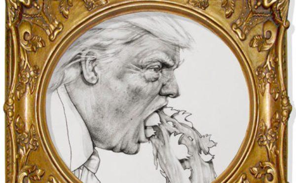 Trump portraitby Casey Promise