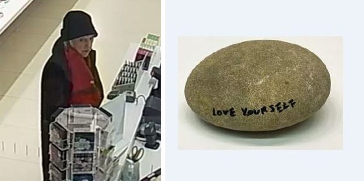 Woman Steals 500 Rock from Yoko Ono Installation