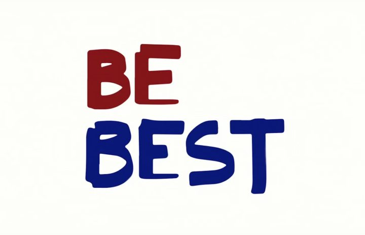 """The logo for """"Be Best"""" allegedly designed by Melania Trump herself (image courtesy the White House)"""