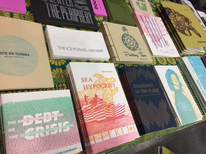 Books on offer at the 2017 edition of the IPK Print Fair (courtesy the organizers)