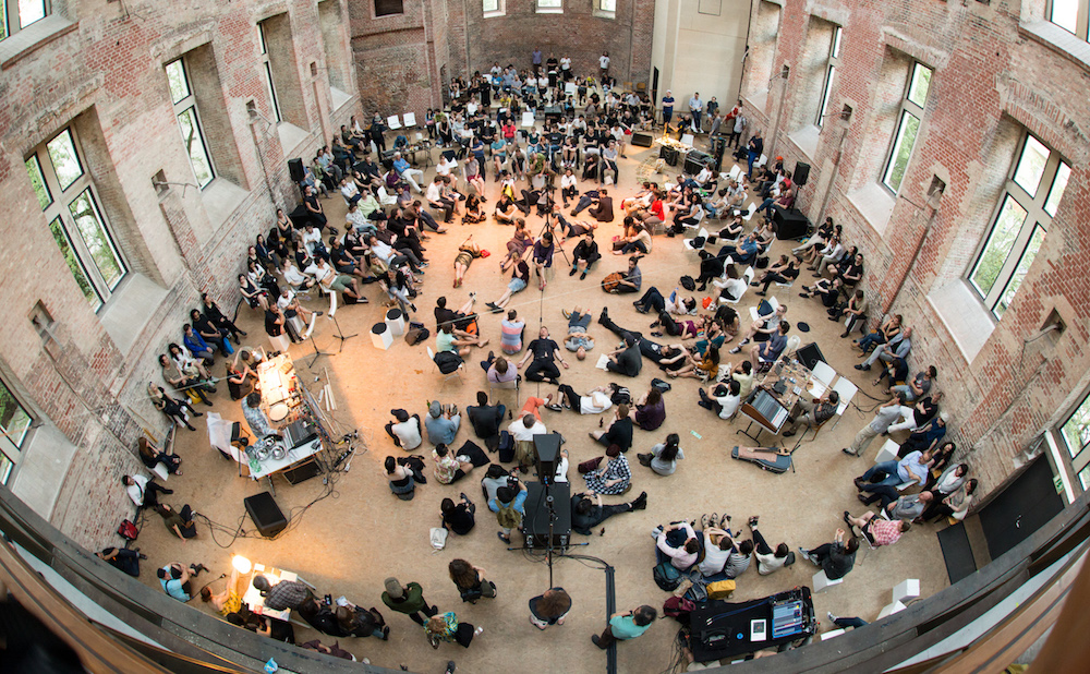 A recent Marginal Consort performance (courtesy Pioneer Works)