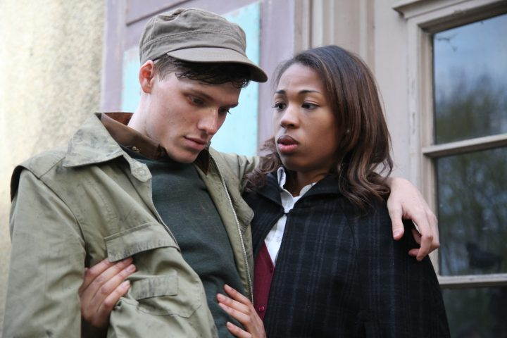 Left-to-right: Til Schindler and Kita Updike in a scene from Bruce LaBruce's The Misandrists