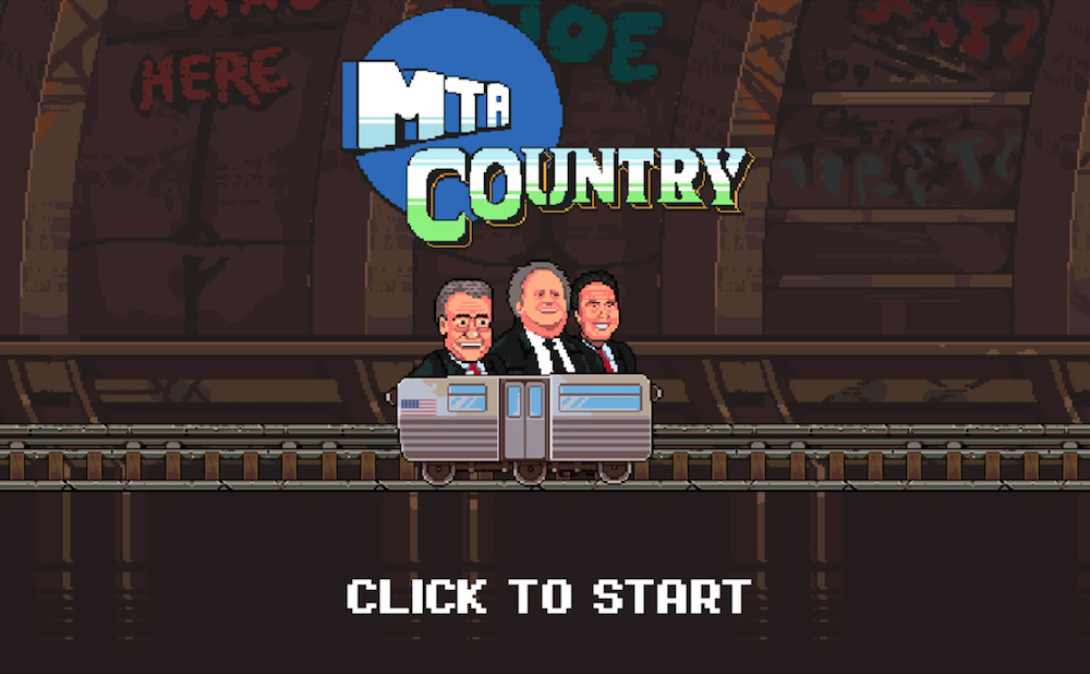 Screenshot from MTA Country by Everyday Arcade