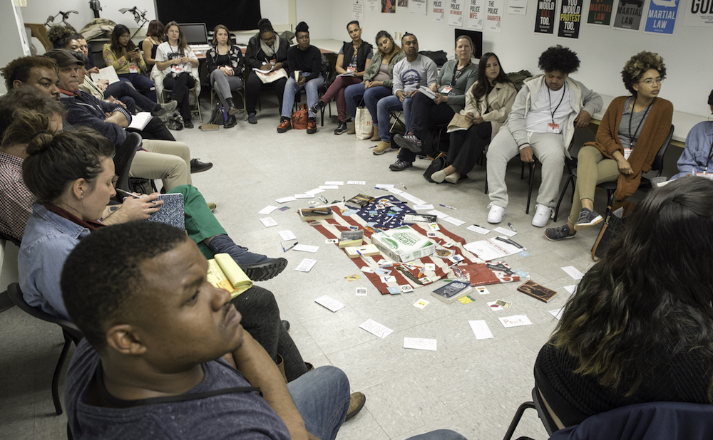 An event at Open Engagement 2017, on the theme of Justice, in Chicago