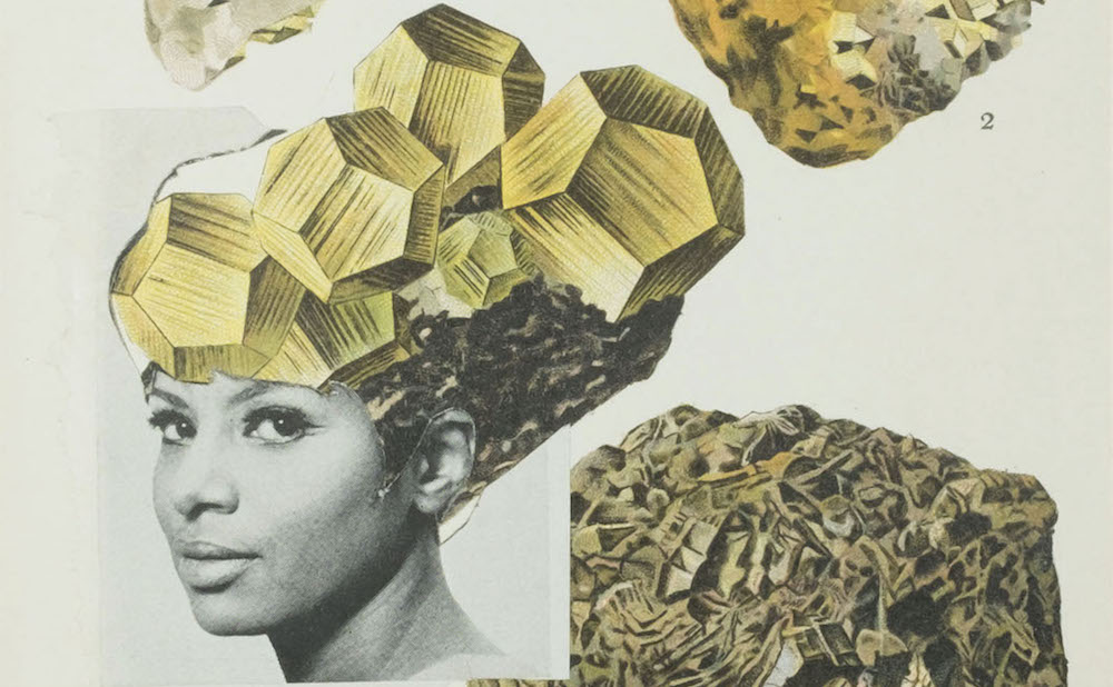 Lorna Simpson S Glowing Collages Of Women And Heads Of Hair