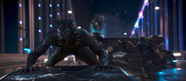 Black Panther NEVER gets pulled over by the Fashion Police.