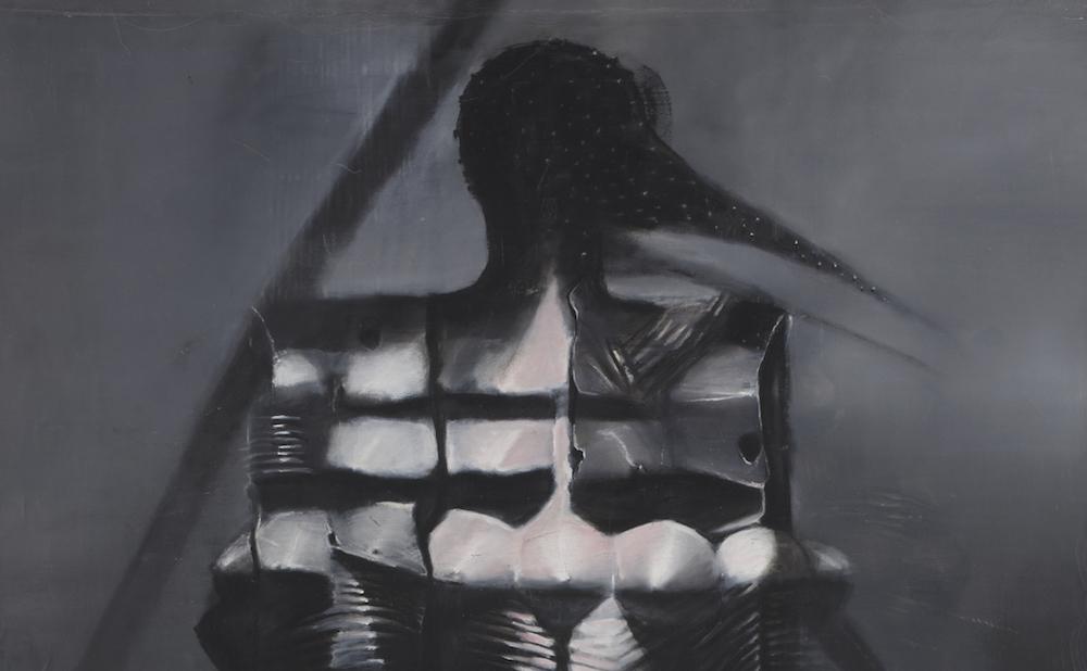 "Agustin Fernandez, ""Untitled"" (circa 2003), oil on canvas, 152 x 228 cm (courtesy and © Agustin Fernandez Foundation; photo by Daniel Pype)"