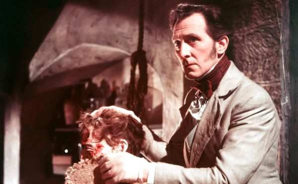 The Curse of Frankenstein (1957, Peter Cushing (courtesy Everett Collection via the Quad Cinema)