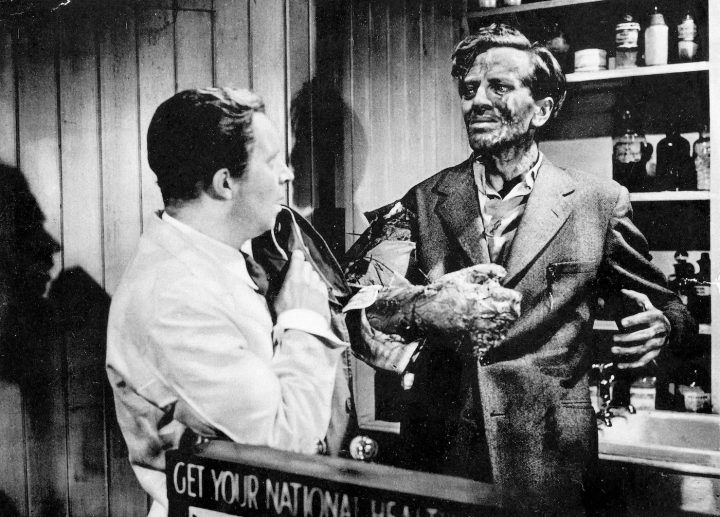 The Quartermass Xperiment (1955, Val Guest) (photo by Mary Evans, Hammer Film Productions Ltd., courtesy Everett Collection Via Quad Cinema)