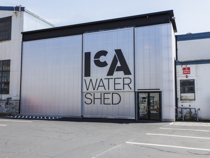 The exterior of the ICA Boston's new Watershed space (photo by John Kennard)