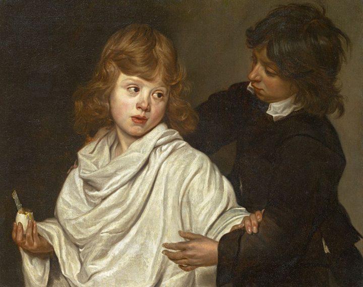 "Michaelina Wautier, ""Everyone his fancy (Elk zijn meug)"" (c.1655) (image courtesy the Phoebus Foundation)"