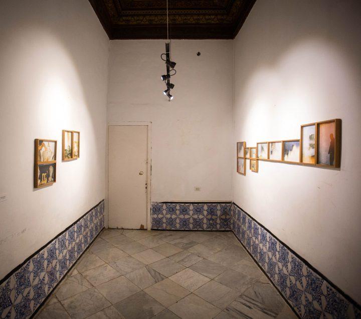 Installation view of Fakhri El Ghezal El Maamel Act I (2006-2009) (photo by Wassim Griman for the Kamel Lazaar Foundation)