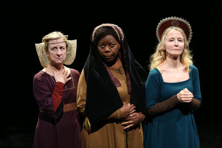 Pippa Pearthree, LaTonya Borsay, and Ginger Grace in <em srcset=