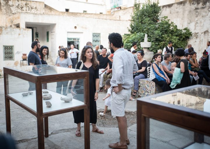 Opening of Pavilion Earth Trab (photo by Wassim Griman for the Kamel Lazaar Foundation)