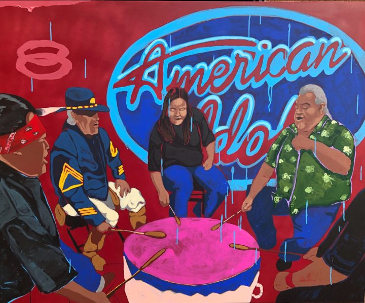 """""""EPOCHS - American Idol"""" from a new series by Frank Buffalo Hyde, available at Tansey Contemporary"""